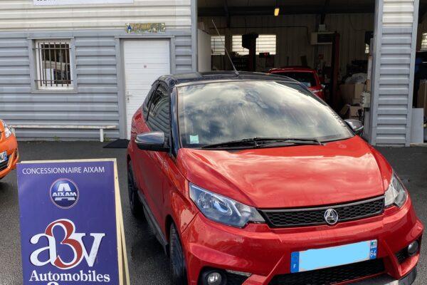 Voiture sans permis d'occasion Aixam Coupé GTI à Bayonne - Automobile 3 Vallées