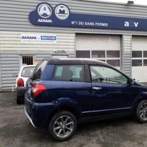 Véhicule sans permis d'occasion Aixam Crossover à Bayonne - Automobile 3 Vallées